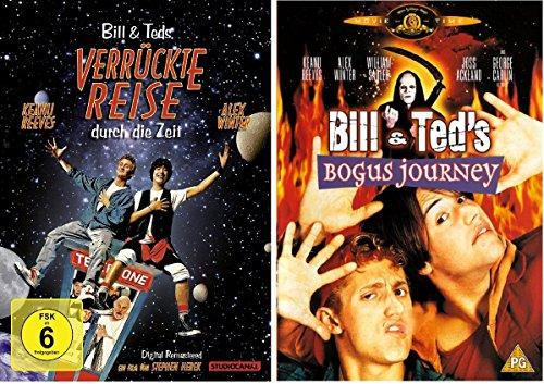 Bill und Teds verrückte Reise durch die Zeit + in die Zukunft dvd Set, deutsch 2 Dvds neu & ovp