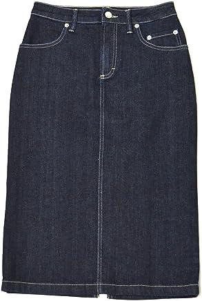[SIVIGLIA【シヴィリア/シビリア】]デニムタイトスカート C41J S998 6001 コットン インディゴ