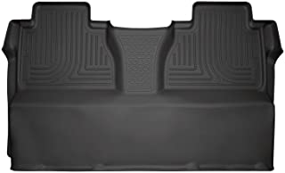 Husky Liners 19581 Fits 2014-20 Toyota Tundra CrewMax Weatherbeater 2nd Seat Floor Mat (Full Coverage) , Black