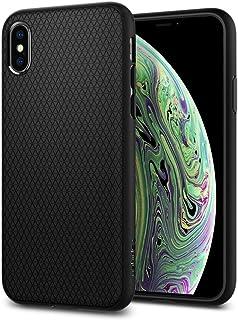 Spigen Liquid Air Armor Designed for Apple iPhone Xs Case (2018) / Designed for Apple iPhone X Case (2017) - Matte Black
