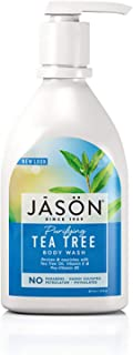 Jason Natural Body Wash & Shower Gel, Purifying Tea Tree, 30 Oz