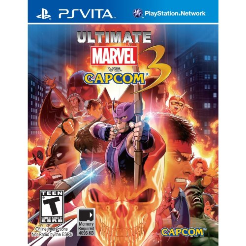 Ultimate Marvel vs Capcom 3 PS Vita US