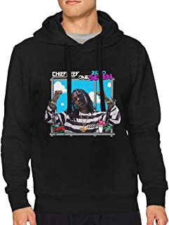 Men's Chief Keef Classic Music Band Long Sleeves Hoody Black Gift