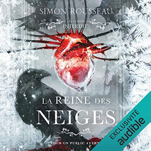 La reine des neiges audiobook cover art