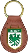 McHenry Family Crest Coat of Arms Key Chains