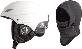 Demon Phantom Helmet with Brainteaser Audio and Free Balaclava (Black, Medium)