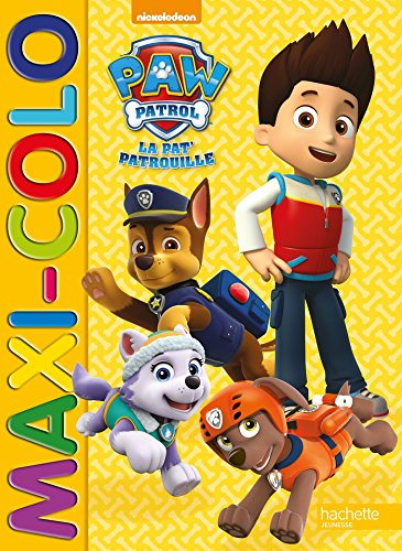 Paw Patrol-La Pat'Patrouille - Maxi colo