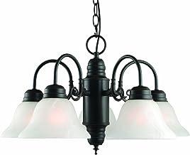 Design House 514455 Millbridge 5 Light Chandelier, Oil Rubbed Bronze [並行輸入品]