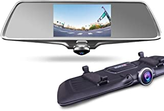 PROVISION ISR 360 Wide Angle Dual Mirror HD Touch Screen Back up Front and Rear Camera