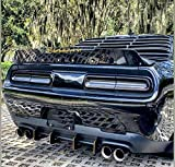 Rear Diffuser Kit V1 Compatible with Dodge Challenger 2015-2021
