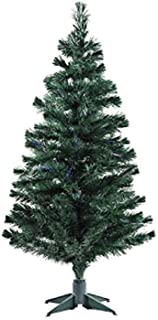Urban Festivities Six 6 feet Artificial Christmas Tree Xmas Tree Green with Solid Legs, Perfect for Christmas Decorations ...