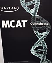 Best Kaplan MCAT Quicksheets - New Edition for 2016 Test - MM5104E Review
