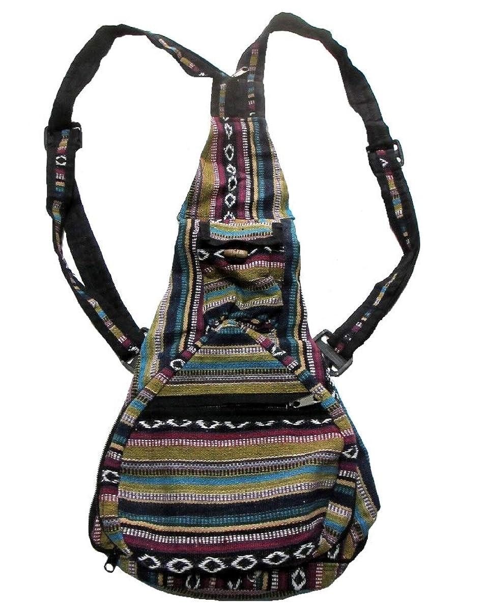 ゴネリルこどもセンターためにエスニックバッグネパール製ゲレ2ウエイリュックサックエスニック衣料雑貨