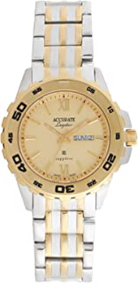 Accurate Casual Watch Analog for Men, Stainless Steel, AMQ1926T