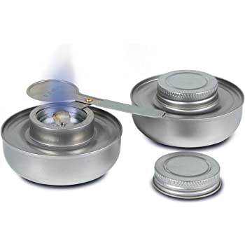 Boska Holland Safe Fondue Fuel with Flame Regulator, Set of 2, Up to 5 Hours Burn Time, Reseal able, Universal Fit