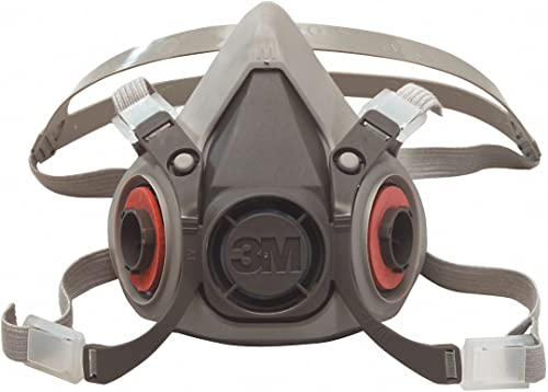 3M Safety 142-6100 6000 Series, Small Reusable Half Face Mask Respirator