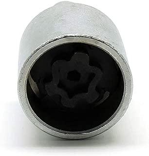 TEMO 535 Wheel Lock Nut Screw Removal Key Anti-Theft Lugnut Socket S3056 for Vw Audi Vag Volkswagen Vehicles