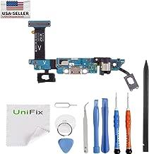Unifix-Charging Port Flex Cable Dock Connector USB Port for Samsung Galaxy S6 G920V Verizon + Premium Tools