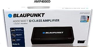 $107 » Blaupunkt AMP4000D 4000W Max 1-CH Monoblock Class D Stereo Car Audio Amplifier