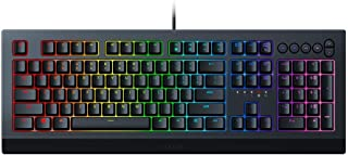 Razer RZ03-03400100-R3M1 Cynosa V2 Chroma RGB Membrane US Layout Gaming Keyboard, Black