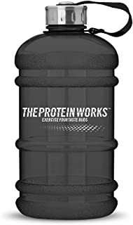 The Protein Works The Juggernaut, Water Bottle, Smoked Black, 2.2 Litre