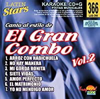 Vol. 2-Karaoke Latin Stars