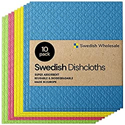 SWEDISH CELLULOSE CLEANING SPONGE CLOTHS