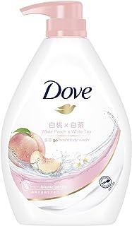 Dove Go Fresh White Peach x White Tea Body Wash, 1 liters