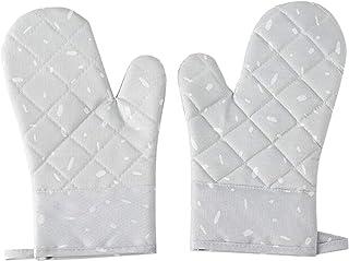 BBQ Gloves Pizza Ugn tillbehör Mikrovågsugn Glove Ett Par Houshold Halk Cotton BBQ Ugnsbakning Handskar Värmetålig Kitchen...