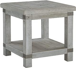Signature Design by Ashley Carynhurst Rectangular End Table White Wash Gray