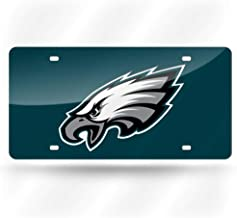 Rico Industries NFL Philadelphia Eagles Laser Inlaid Metal License Plate Tag