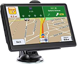 GPS Navigation for car, 7 inches HD Touch Screen Truck GPS Spoken Turn- to-Turn Traffic Alert Built-in 8GB GPS Navigation with Sun Shade Lifetime Map Updates