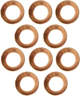 Parker Hannifin 2GF-4 Flare Gasket 45 Degree Copper Flare Fitting 1//4 Tube Size