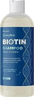 Volumizing Biotin Shampoo for Thin Hair - Sulfate Free Shampoo for Fine Hair Care with Biotin Hair Vitamins for Thinning H...