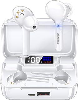 ワイヤレスイヤホン 【第3世代最新版 Bluetooth5.1】 Bluetooth イヤホン ブルートゥース イヤホン スポーツ IPX7完全防水 自動ペアリング LEDディスプレイ電量表示 高音質 CVC8.0ノイズキャンセリング&AAC対...