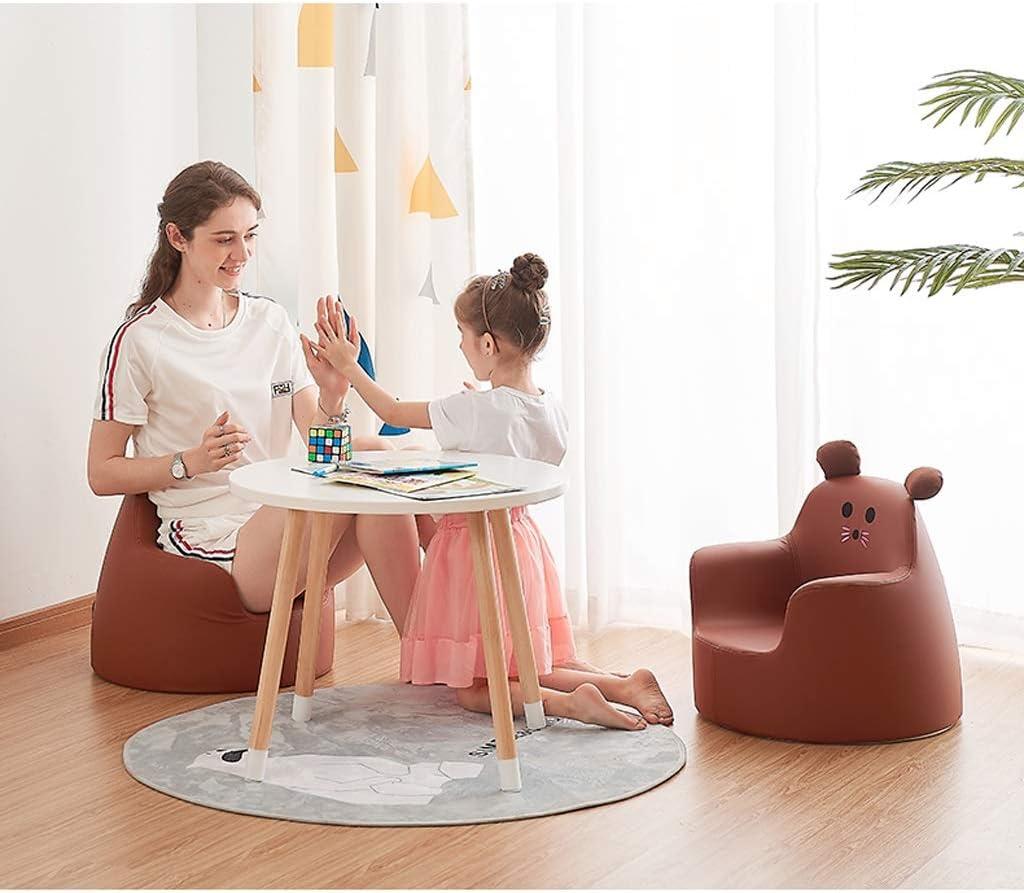 LAOMAO Chaises Canapé for Enfants, Petit siège, Mini-Tabouret de Dessin animé Mignon, Banc de canapé Paresseux, Banc for Chaussures, Repose-Pieds (Color : E) F