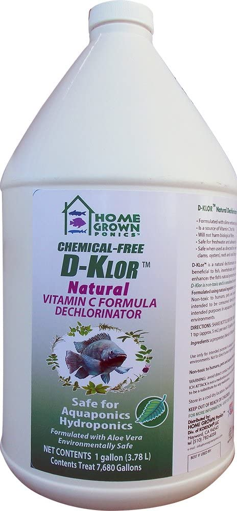 Max 42% OFF HOME GROWN PONICS Popular overseas # 96031 Instant Natural D-Klor Dechlorinator -