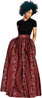Private Customized 2019 African Dresses for Women A-Line Print Skrit Ankara Fabric Dashiki Clothing Wax Print Casual s1927005