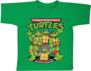 TMNT Group Official Unisex Kids T Shirts Ages 3-12 Years