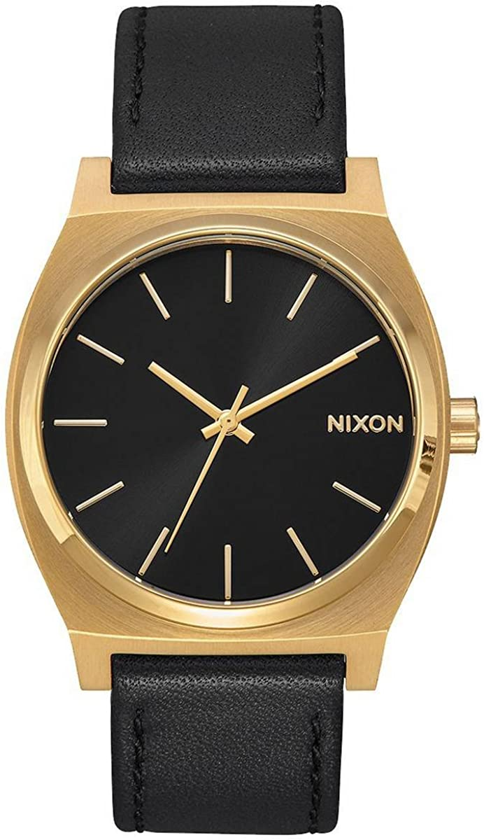 Nixon Max 85% OFF Time Teller P A119. 100m NEW before selling Resistant Water Men's Watch 40mm