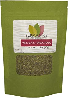 Mexican Oregano | Kosher Certified | Excellent for cooking Latin American dishes | (1.5 oz.)