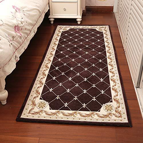 Chenille Hallway Rugs Indoor Doormat Non Slip Machine Washable Modern Stripe Weave Kitchen Runner Indoor Floor Carpet