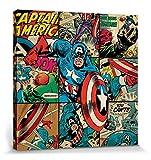 1art1 Captain America - Squares, Marvel Comics Bilder