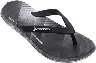 Black RRP £29.95 Rider Bay VI AD Slide Mens Flip Flops Beach Pool Sandals