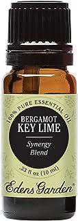 Edens Garden Bergamot Key Lime Essential Oil Synergy Blend, 100% Pure Therapeutic Grade (Detox & Energy) 10 ml