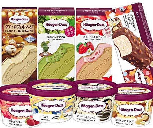 ハーゲンダッツ アイスクリーム 人気の8種のフレーバー詰め合わせギフト