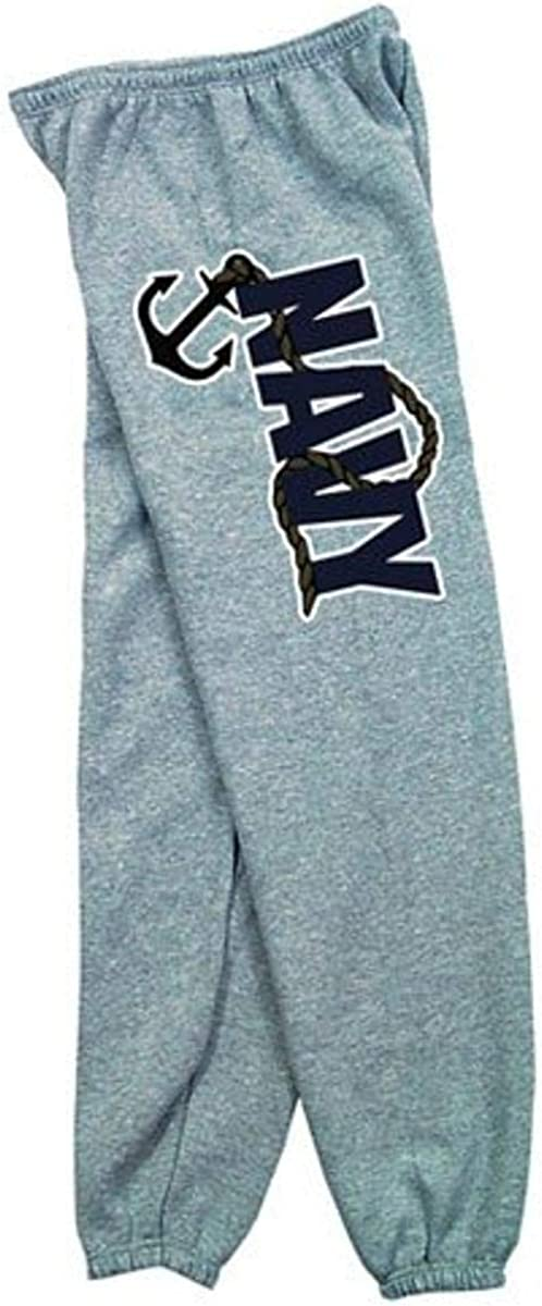 Fox Outdoor Products Navy Anchor Sweatpants