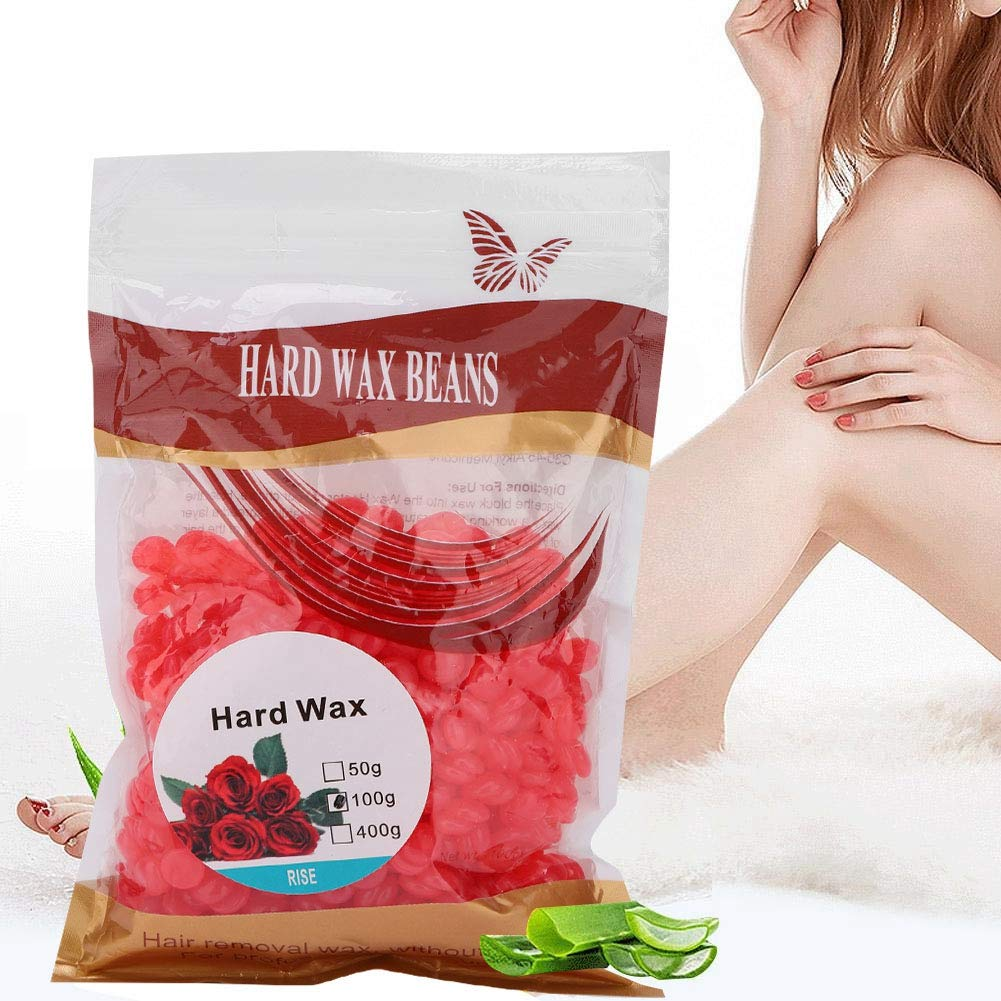 favorite 100g Hard Wax Beans Super sale for Hair Waxi Removal Painless
