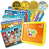 electronics game tablet - BEST LEARNING INNO PAD Smart Fun Lessons - Educational Tablet Toy to Learn Alphabet, Numbers, Colors, Shapes, Animals, Transportation, Time for Toddlers Ages 2 to 5 Years Old