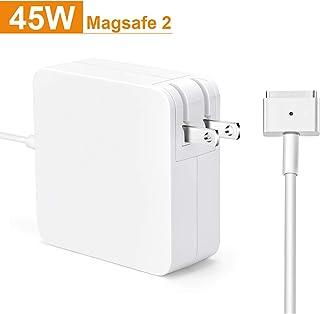 Vanstarry【PSE認証】 45W MagSafe 2 T型 Macbook Air 充電器 Macbook用 互換 電源アダプタ T字コネクタ Mac対応 11/13.3inch用 (2012 中期以降のモデル)